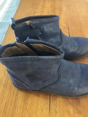 Girls Size 1 Boots Worn Once