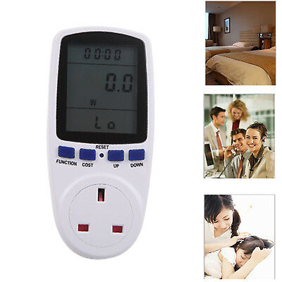 Power Consumption Meter Energy Monitor Calculator Usage Plug In Electricity KWH