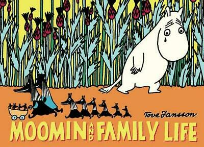 Moomin and Family Life by Tove Jansson (English) Paperback Book Free Shipping!