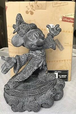Disney Parks Epcot Flower & Garden 2017 Sorcerer Mickey Statue New with Box