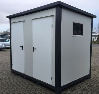 Wc-Container Sanitärcontainer mobile Toilette- WC -Leasing möglich