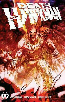 Death Of Hawkman TP by Marc Andreyko Paperback Book Free Shipping!
