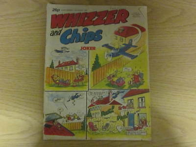 August 15th 1987, WHIZZER & CHIPS, David Shenton, Aaron Law, Bwthyn Arthur.
