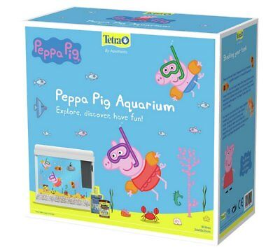 Tetra Fish Tank Peppa Pig 18L Perfect Starter Kit For You And Your Family NEW_UK