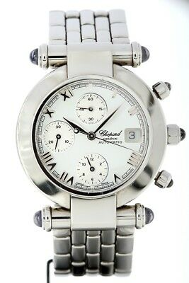 CHOPARD IMPERIALE SS 37/8210-33 AUTOMATIC CHRONOGRAPH Watch Used