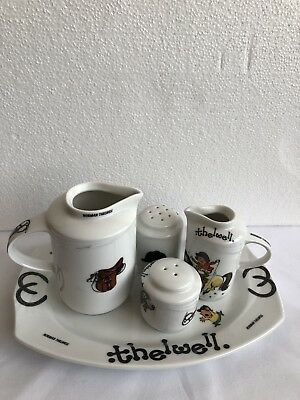 Very Rare Vintage Beswick Ware Ponies by Norman Thelwell Cruet Set