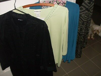 4 Long Sleeve Tops Size 18