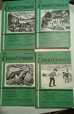 The Countryman Magazine  4 Issues 1969