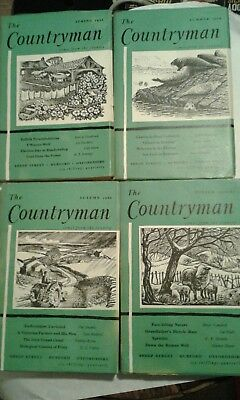 The Countryman Magazine  4 Issues 1966