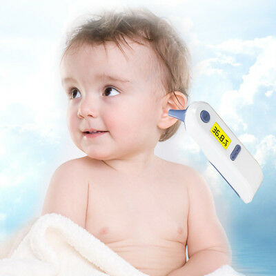 Dual Mode Digital Medical Forehead Ear Thermometer for baby Adults Safety