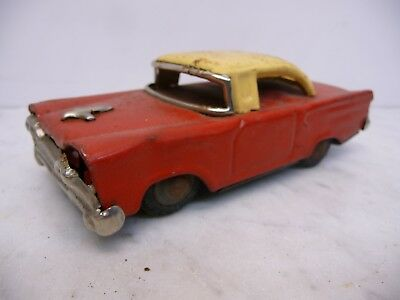 Tiny Giant Chevrolet Bel Air rot/creme Blech Made in Japan Rarität 60er Jahre