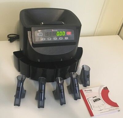 Cassida C 200 Professional Digital Coin Counter/ Sorter/ Wrapper/ Roller (US Ed)