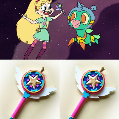 Anime Star vs the Forces of Evil Princess Magic Wand Stick Cosplay Hand Prop Toy