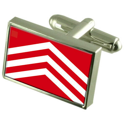 Select Gifts Merioneth County England Flag Cufflinks Tie Clip Box Gift Set