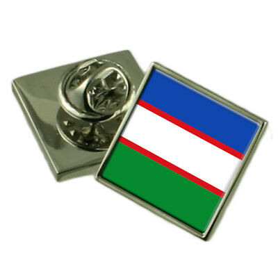 Manizales City Colombia Flag Cufflinks Engraved Box