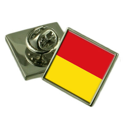 Paderborn City Germany Sterling Silver Flag Cufflinks Engraved Box