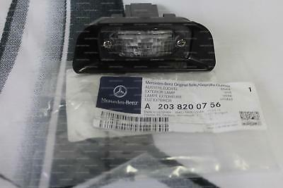 Genuine Mercedes-Benz W203 C-Class REAR Number Plate Lamp A2038200756 NEW