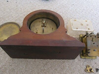 Antique French Mantel Clock patform Balance & Carriage Type Movement Spares reps