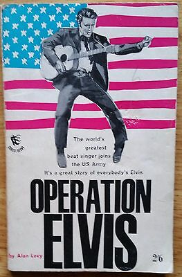 ♫ ELVIS PRESLEY 1960  Book  'Operation Elvis' - lot 44♫