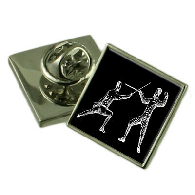 Swords Crossed sterling silver charm .925 x 1 Foils Fencing Sword charms EC1945