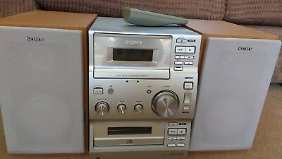 sony cmt-cp100 micro hifi component system with remote. Very good condition