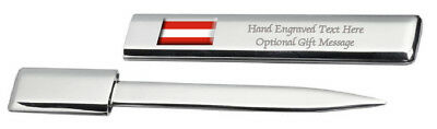 Brno City Czech Republic Flag Post Mail Letter Opener Engraved
