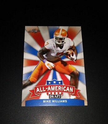Mike Williams Chargers RC Rookie All American Leaf Draft 2017 Card NFL Football