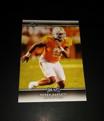 Derek Barnett Eagles RC Rookie #25 Leaf Draft 2017 Card NFL Football