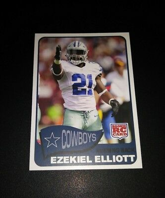 Ezekiel Elliott Dallas Cowboys RC Rookie #11 2016 Trading Card NFL Football