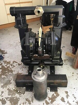 "2"" Ingersoll-Rand ARO air driven double diaphragm pump. - PD20A-BAP-GGG-B"