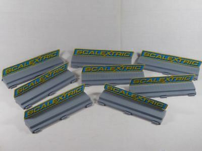 Scalextric (8pcs.) Slotcar Gehweg - Sidewalk / Footpath (SO2705)