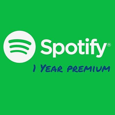 Spotify Account | Premium for 1 year |Worldwide