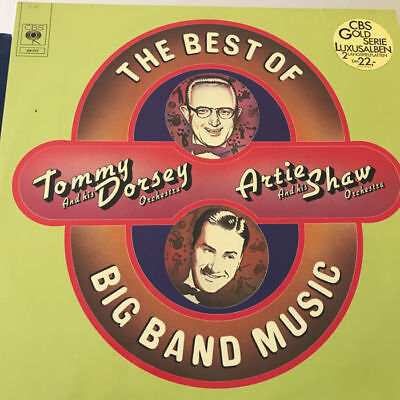 Tommy Dorsey, Artie Shaw,THE BEST OF BIG BAND MUSIC, LP Vinyl