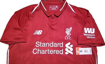 ✔ OFFICIAL New Balance Liverpool FC 2018-19 Home Jersey SMALL + LARGE Sizes BNWT