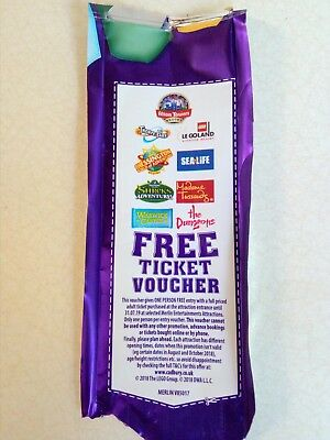 free ticket voucher - chessington, Alton towers, Thorpe park, sea life, tussauds