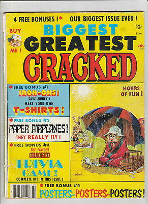 CRACKED Magazine Annual #18 Fall 1983 Three's Company TRIVIA GAME Gorkel House