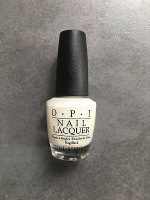 Vernis OPI Funny Bunny Blanc Transparent Nl H22 Comme Neuf