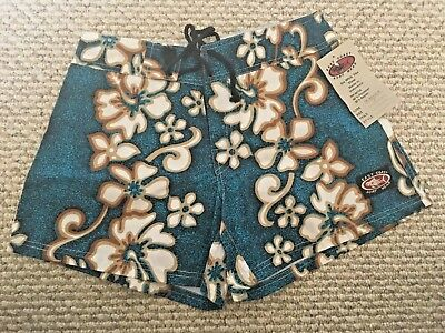NWT East Coast Women's Hawaiian Shorts Size Small
