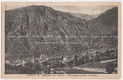 Antey s. André - Panorama - (Valle d'Aosta)