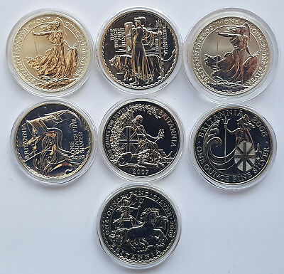 Royal Mint Silver One Ounce Britannia Two Pounds £2 Unc - Choose Your Year!