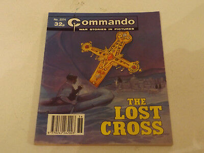 Commando War Comic Number 2374,1990 Issue,v Good For Age,27 Years Old,very Rare.