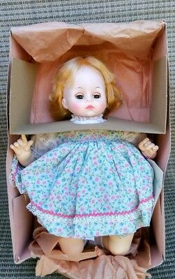 "Madame Alexander Doll~14""~#3222~Pussy Cat~Blonde~Blue Eyes~In Box~Made In USA"