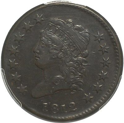 1812 Classic Head Large Cent - PCGS XF45 - Small Date - Nice Chocolate Brown