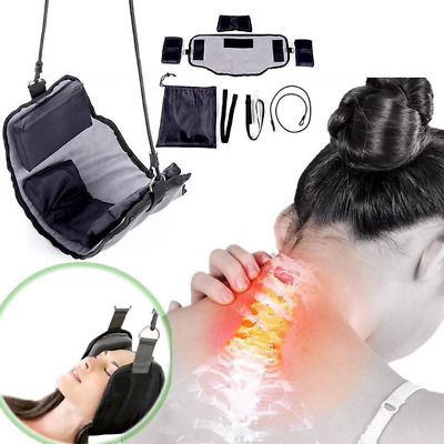 Neck Hammock Pain Relief Body Massager Spa Relax Massage Traction Device