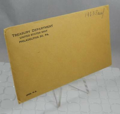 1963 US Mint 5 Coin Silver Proof Set Original Mint Sealed Envelope CB398