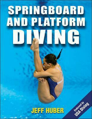 Springboard and Platform Diving by Jeff Huber (English) Paperback Book Free Ship