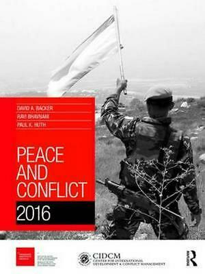 Peace and Conflict 2016 (English) Hardcover Book Free Shipping!