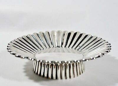 Rare Antique TIFFANY & CO Sterling Silver Candy Dish Sunflower
