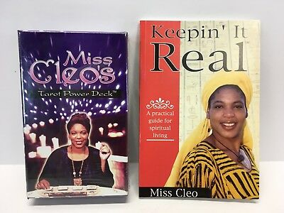 NEW SEALED Miss Cleo's Tarot Power Deck tarot cards - WITH BOOK