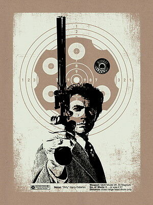Dirty Harry Movie ?Magnum Clint Eastwood Art Huge Giant Wall Print POSTER